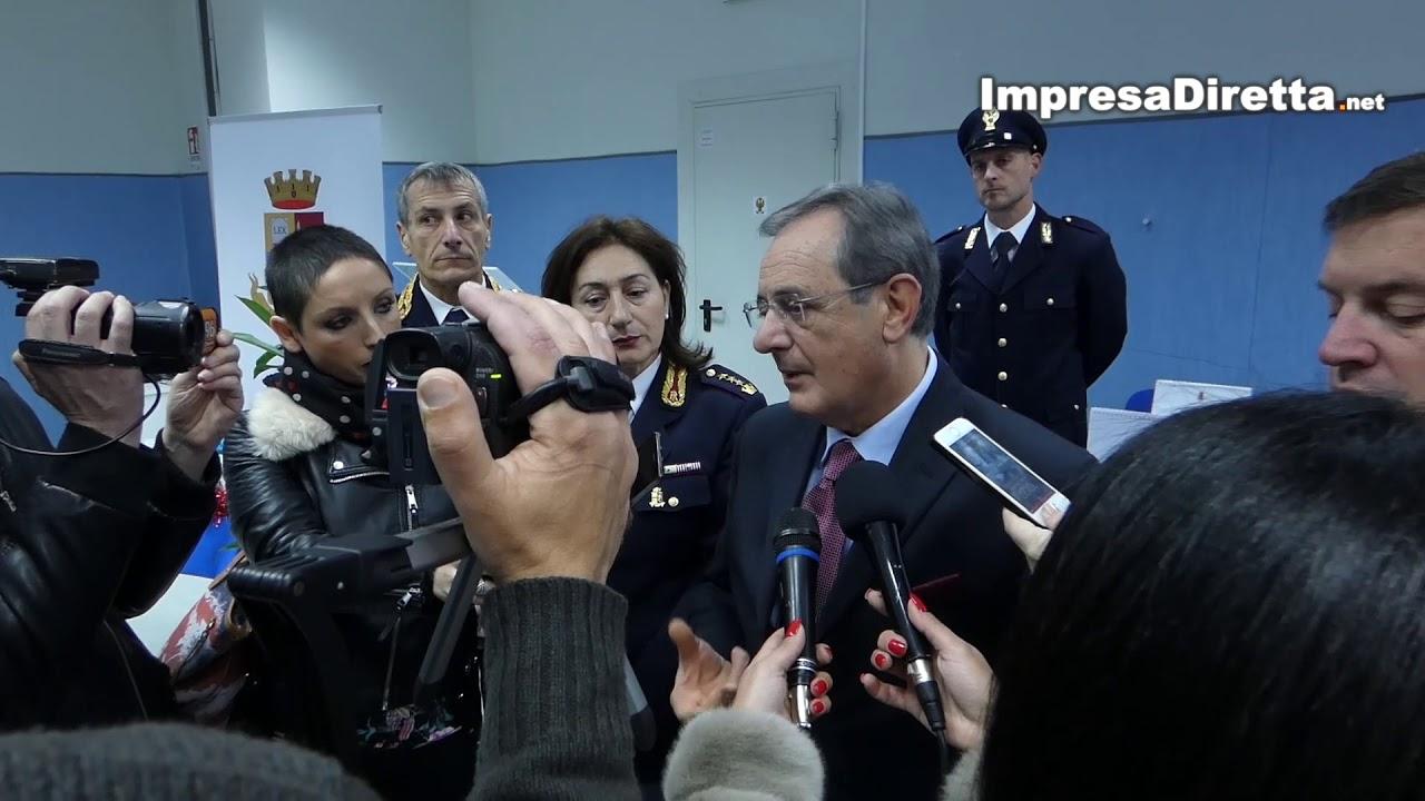 AVELLINO: PRESENTAZIONE DEL CALENDARIO 2019 DELLA POLIZIA DI STATO.