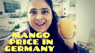 INDIAN MANGO PRICE IN GERMANY || INDIAN VLOGER IN GERMANY 2020