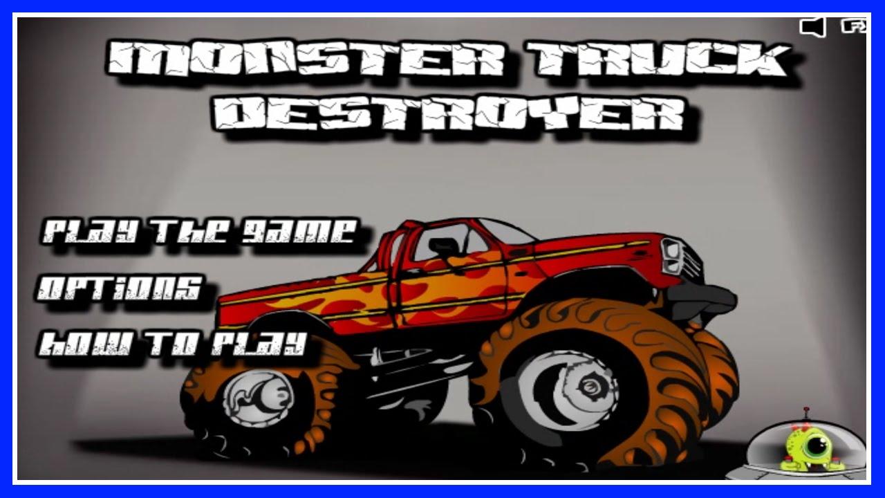 monster truck destroyer flash game walkthrough 11. Black Bedroom Furniture Sets. Home Design Ideas