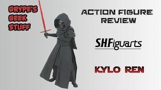 SH Figuarts Star Wars Kylo Ren Action Figure Review