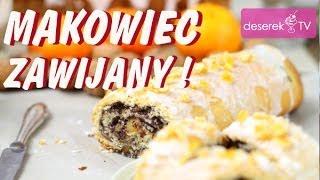 Makowiec zawijany przepis na Wielkanoc od Deserek.TV