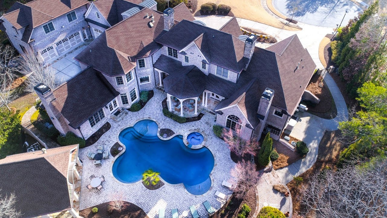 Atlanta 14 000 Sq Ft 2 Million Dollar Luxury Estate Home