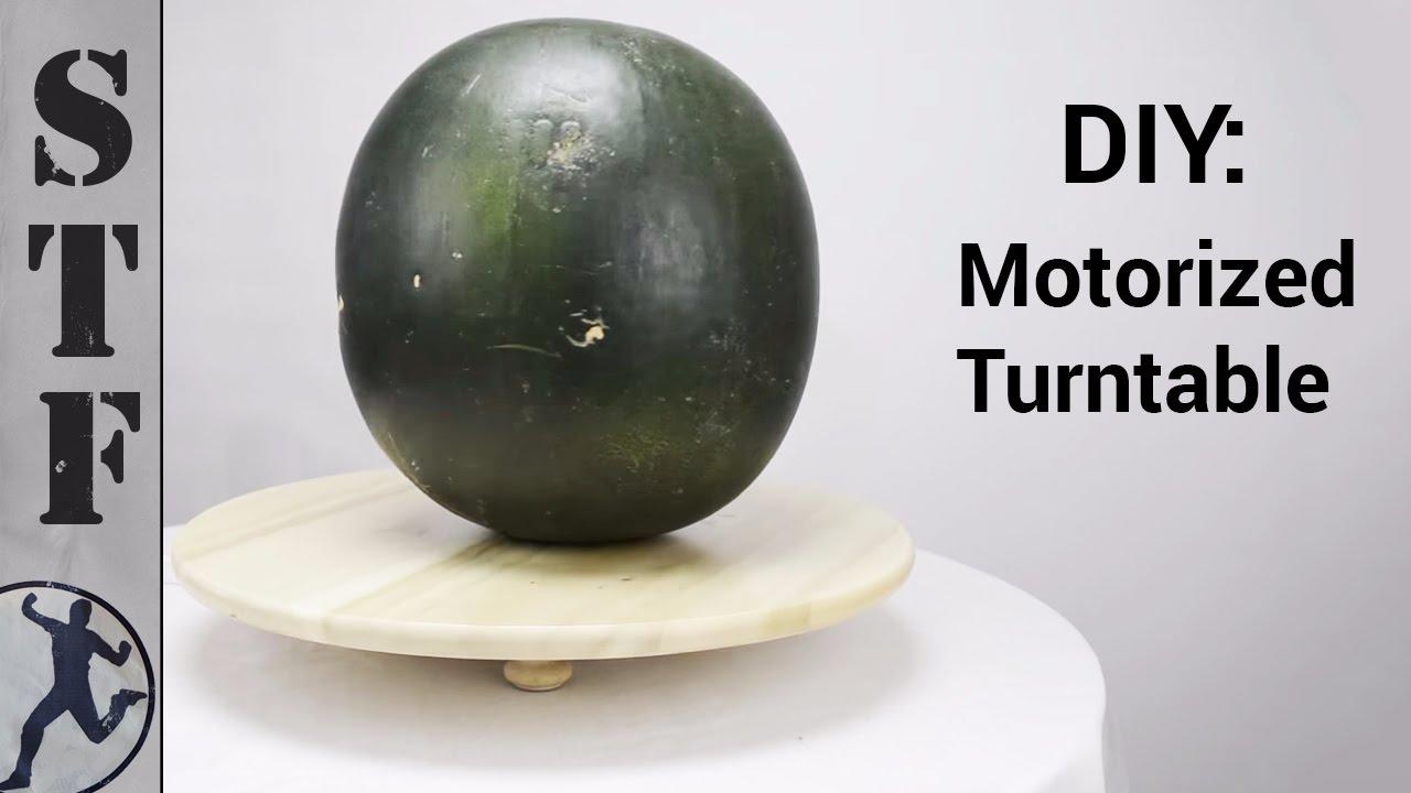 DIY: Motorized Turntable for $12 - YouTube