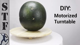 DIY: Motorized Turntable for 12
