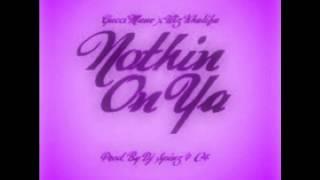 Gucci Mane Ft. Wiz Khalifa - Nothin On Ya ( Chopped And Screwed )