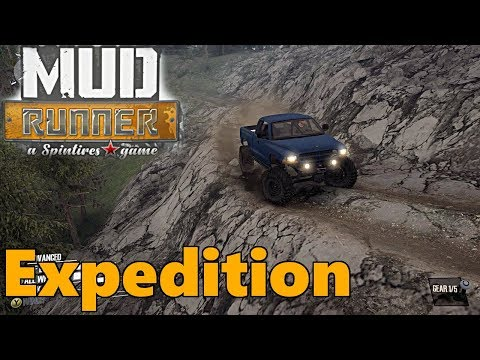 SpinTires Mud Runner: NEW MAP! Expedition
