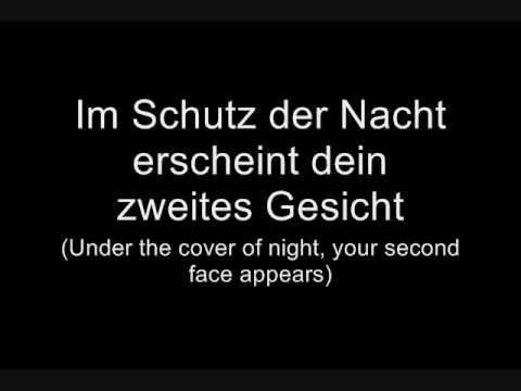 Oomph! - Du lügst (Lyrics w/ English Translation)