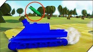 АРТИЛЛЕРИЯ РЕШАЕТ. Американская компания # 3 - Игра Total Tank Simulator Demo 4 прохождение