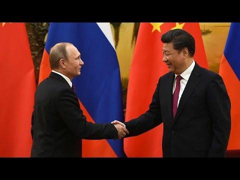 A Pékin, Poutine ressert les liens avec la Chine, si proche alliée