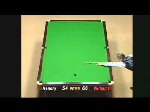 Masterpieces - Final 1998 Masters - Stephen Hendry v Mark Williams