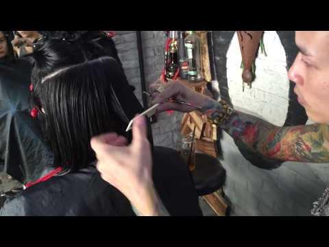 Hair bar Tuấn còi : p1 hướng dẫn cắt đầu vic dài