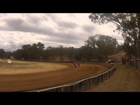 Rickman Metisse Matchless - Dirt Track Broadford Bike Bonanza 2015