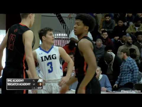 IMG Academy Holds up Wasatch Academy @ HoopHall Classic (Full Game)