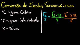 Matemática na Física: Conversão de Escalas de Temperatura | Matemática Rio