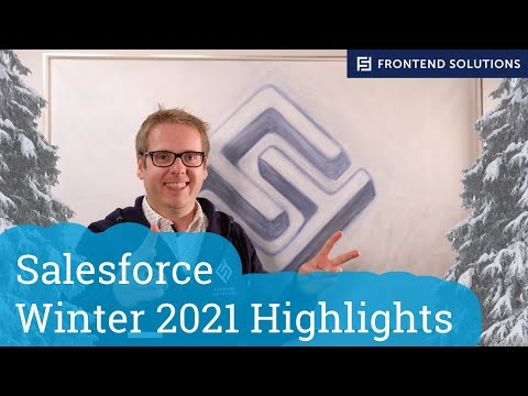 Salesforce Winter 2021 Highlights - Deutsch