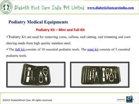 Podiatry Medical Equipment Manufacturers