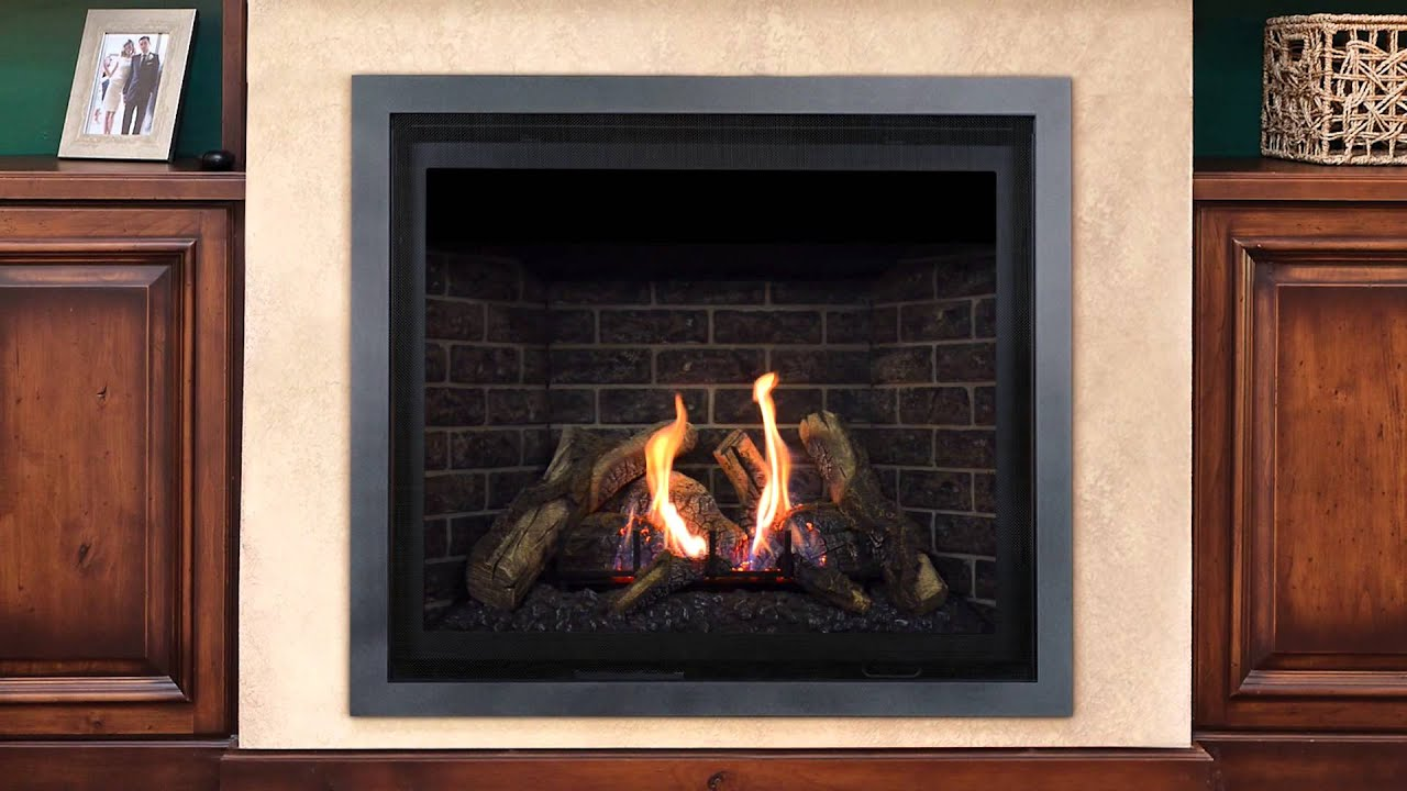 We offer a complete line of gas & wood fireplaces