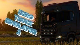 Euro Truck Simulator 2. МП. Кругосветное путешествие. Стрим №4