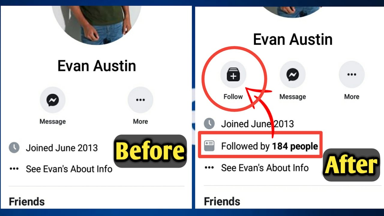 How to Activate Followers Option in Your Facebook ID | Followers Page Setting