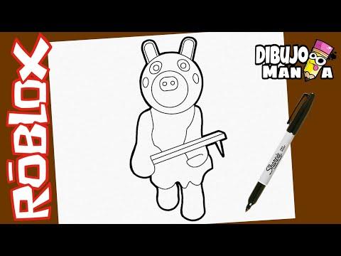 Como Dibujar A Daisy De Piggy Roblox Dibujos De Piggy Roblox