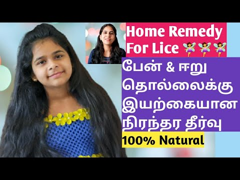 Download HOME REMEDY FOR LICE   LICE REMOVAL TIPS IN TAMIL   பேன் தொல்லை நீங்க-HOW TO REMOVE LICE PERMANENTLY