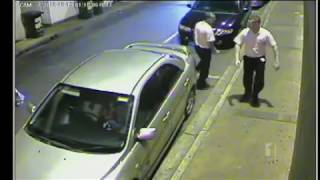 Violent bouncers caught on camera