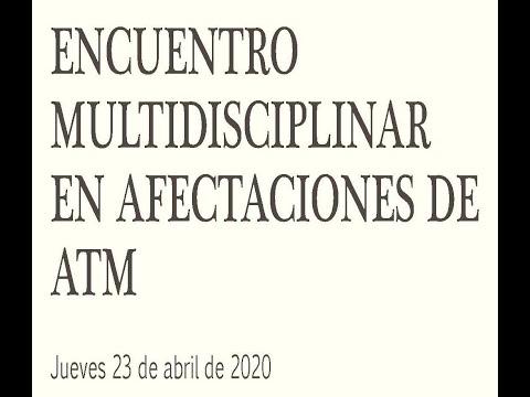 Encuentro Multidisciplinar sobre afectaciones de la articulación  temporomandibular (ATM)