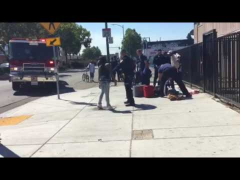 Another shooting in East Oakland on 84th International 7/8/17