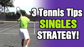 Tennis Drills and Tips For Singles Strategy With TomAveryTennis.com