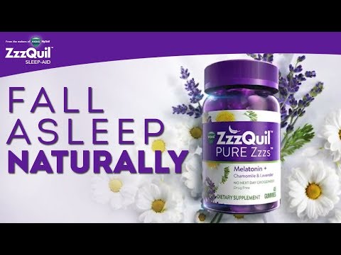 ZzzQuil PURE Zzzs Melatonin Gummies: Fall Asleep Naturally