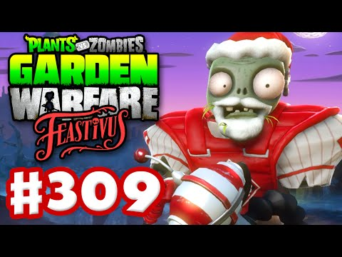 Plants vs. Zombies: Garden Warfare - Gameplay Walkthrough Part 309 - Festive Bone Hat! (PC)