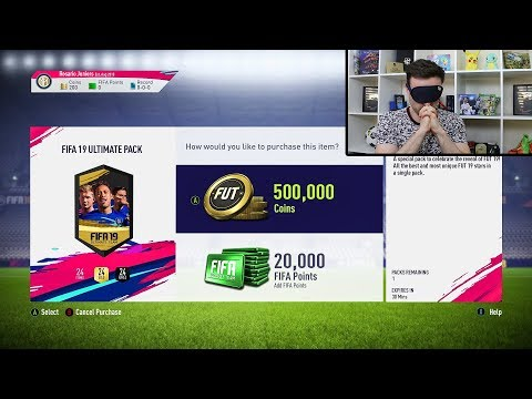 HALF A MILLION COIN FIFA 19 SPECIAL PACK!!! thumbnail