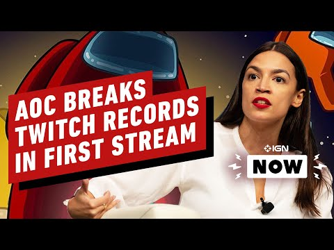 Alexandria Ocasio-Cortez Streams Among Us To Get Out The Vote - IGN Now