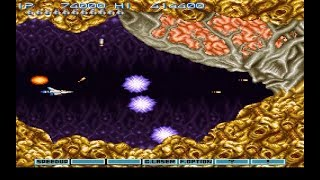 Gradius 3 | Mundos:  2°Tiro Final, Célula Desagradable - FINAL | #6