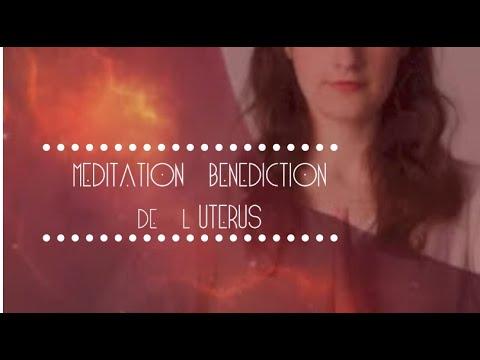 Méditation bénédiction de l'utérus par Miranda Gray