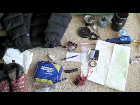 Hiking Lady's What to Pack for a Backpacking Trip
