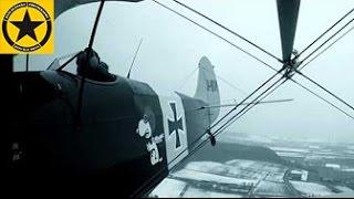 Kiebitz Doppeldecker 15kn Crosswind full Rudder nasty Snow Storm Flight