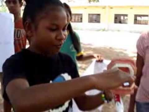 Timor-Leste Students promote school health