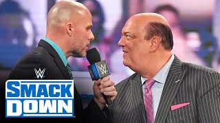 Paul Heyman lays down challenge for Adam Pearce: SmackDown, Jan. 22, 2021
