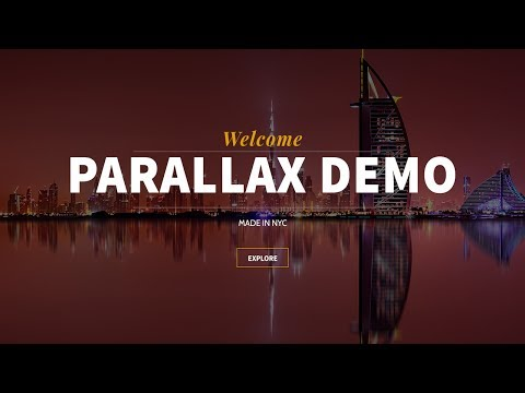 HOW TO MAKE A PARALLAX WORDPRESS WEBSITE FOR FREE! – 2019
