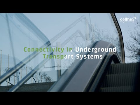 Connectivity in underground transport systems