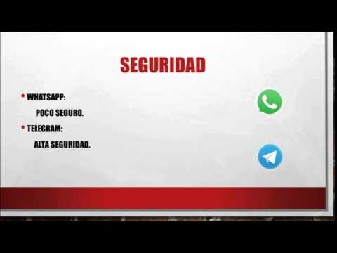 5 Diferencias entre Whatsapp y Telegram
