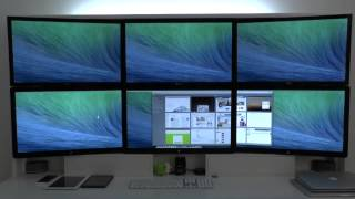 Using Six Multiple Screens in Mac OSX Mavericks - Pros & Cons