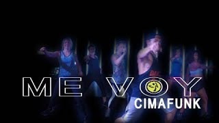 CIMAFUNK - ME VOY // Latin Party choreo for ZUMBA by Jose Sanchez