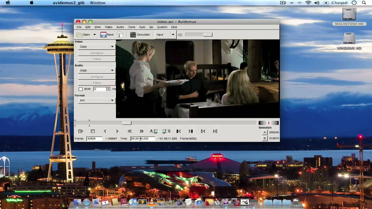 Avidemux: How to split (trim) video files quick and easy (mac) - YouTube