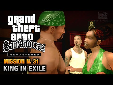 GTA San Andreas Remastered - Mission #31 - King In Exile (Xbox 360 / PS3)