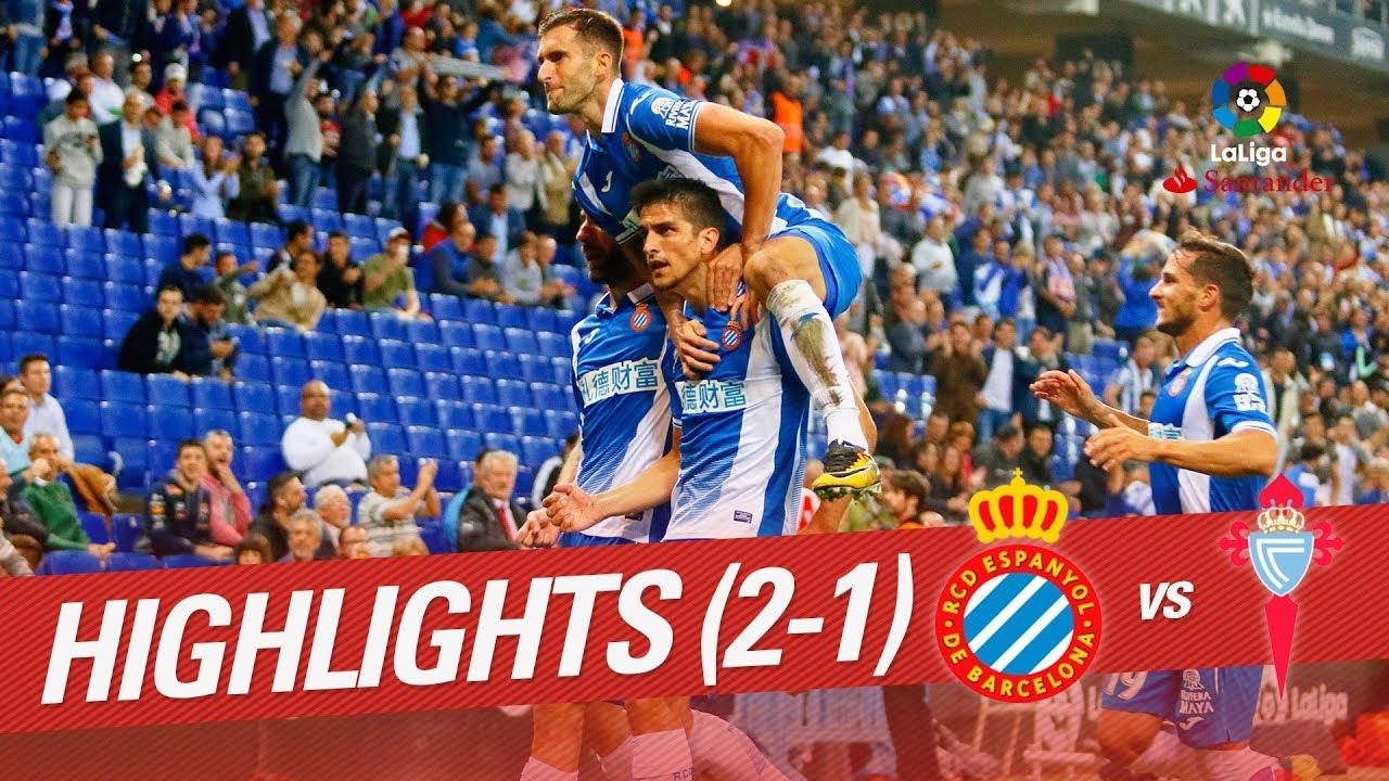 RCD Espanyol 2-1 Celta Vigo