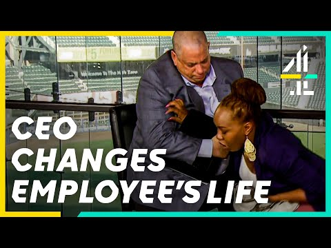 Download Undercover Boss Changes Homeless Employee's Life! | Undercover Boss USA
