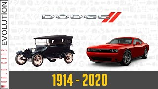 W.C.E. Dodge Evolution (1914 - 2020)