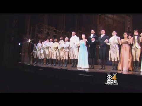 Hamilton Opens At Boston Opera House